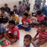 School Kit Distribution to Abhayanikethana Children at Kasaragod-14th June 2015